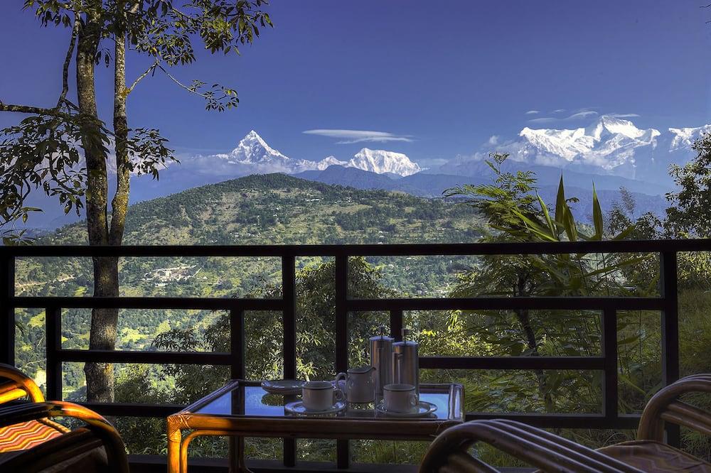Osnovna dvokrevetna soba, Više kreveta, pogled na planinu, uz obronak planine - Balkon