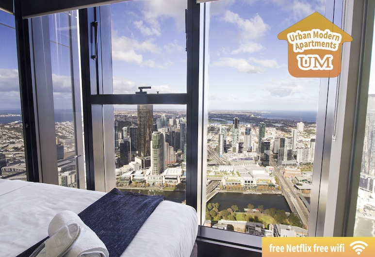 Urban Modern Apartments, Melbourne, Two Bedroom Two Private Bathroom Apartment , Room