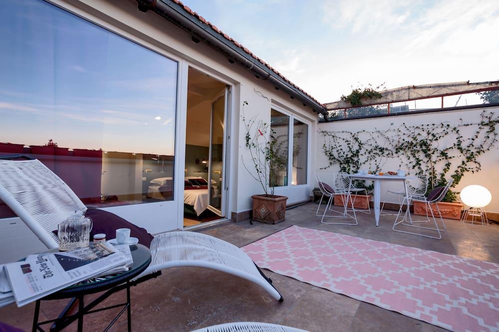 Suite, terrasse, vue ville - Terrasse/Patio