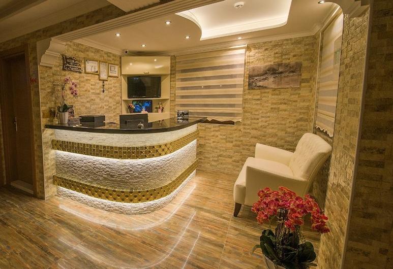 Kayi Hotel, Fethiye, Receptie