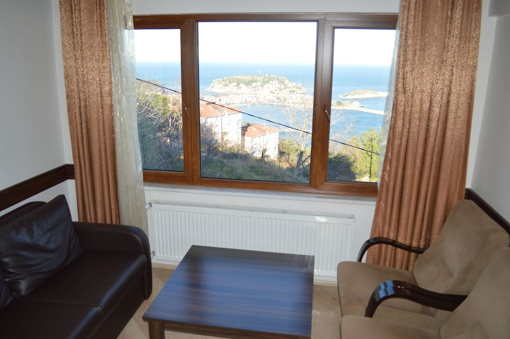 Семейный люкс, балкон - Зона гостиной