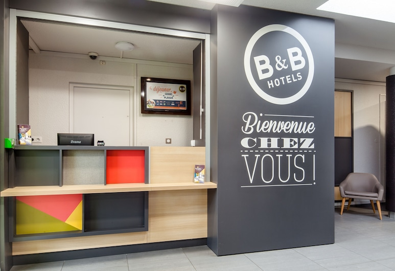 B&B Hotel Paris Nord Villepinte, Villepinte, Móttaka