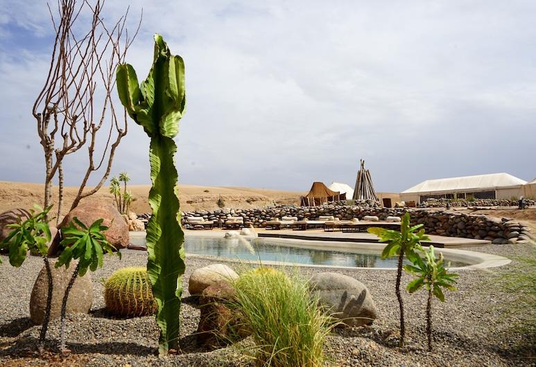 Inara Camp , Marrakech, Piscina al aire libre
