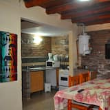 Bungalow, 2Schlafzimmer, Balkon - Wohnbereich