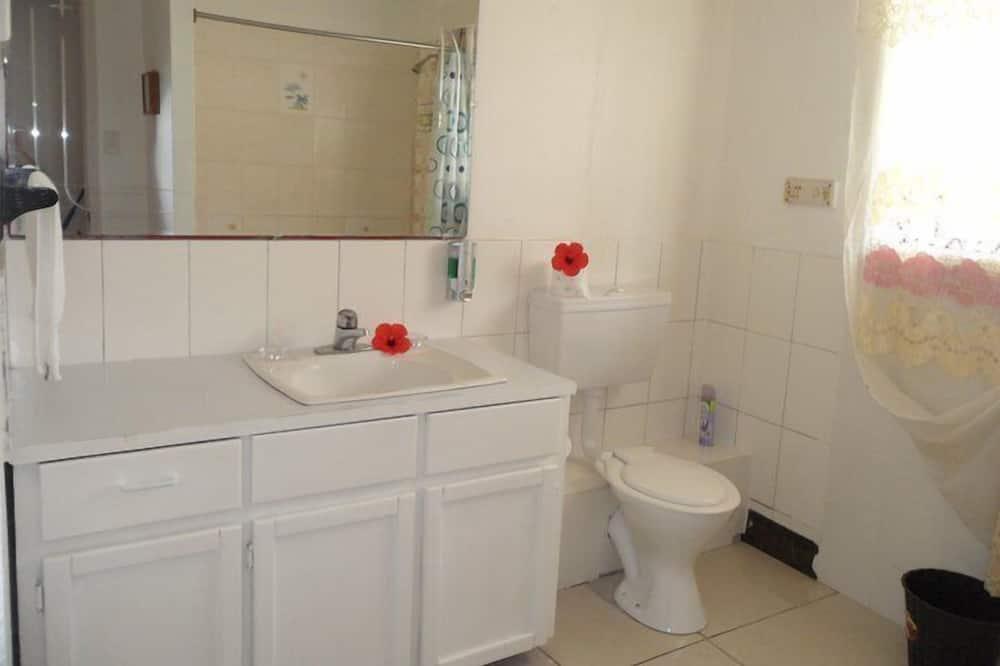 Paaugstināta komforta numurs, koplietojuma vannasistaba - Vannasistaba