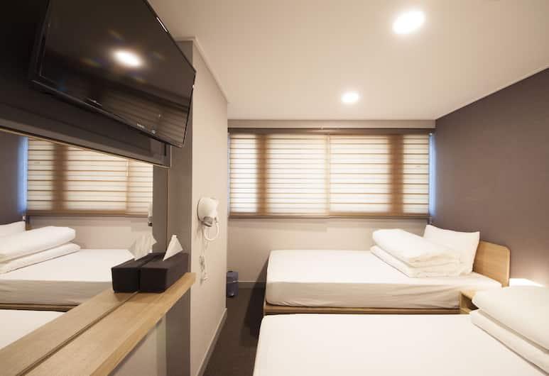 明洞蘭山酒店, 首爾, 雙床房, 客房