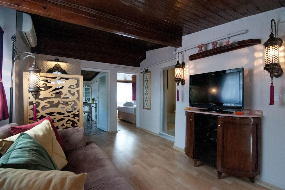 Deluxe Apart Daire (with Turkish Bath) - Oturma Alanı