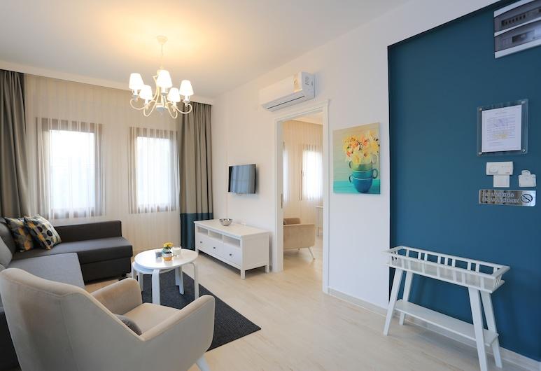 Alp Suites Mandalin, Ula, Departamento, 1 habitación, vista al patio, Sala de estar