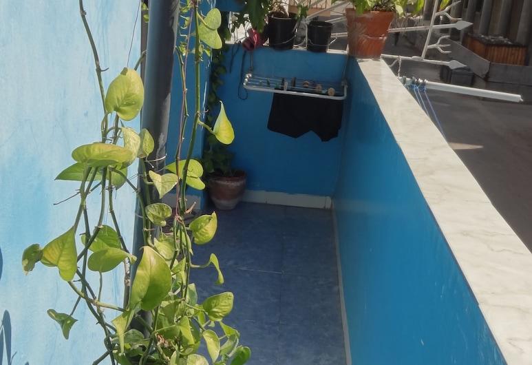 Casa Kary y Humberto, הוואנה, חדר בייסיק זוגי או טווין, נוף מחדר האורחים