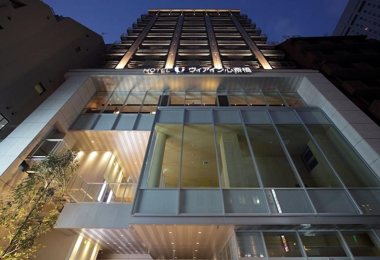 Via Inn Shinsaibashi, Osaka, Hotel Front – Evening/Night