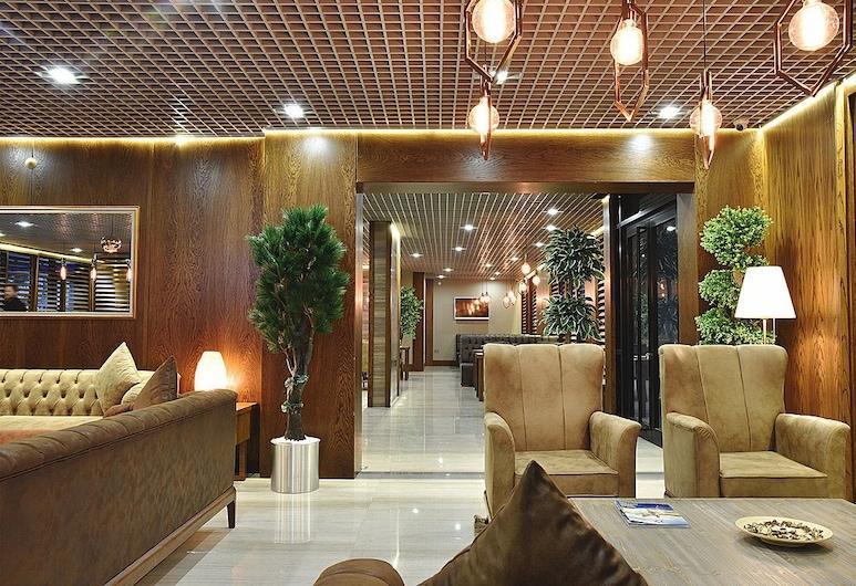 The Elegant Hotel, Eyüp, Sala de estar en el lobby