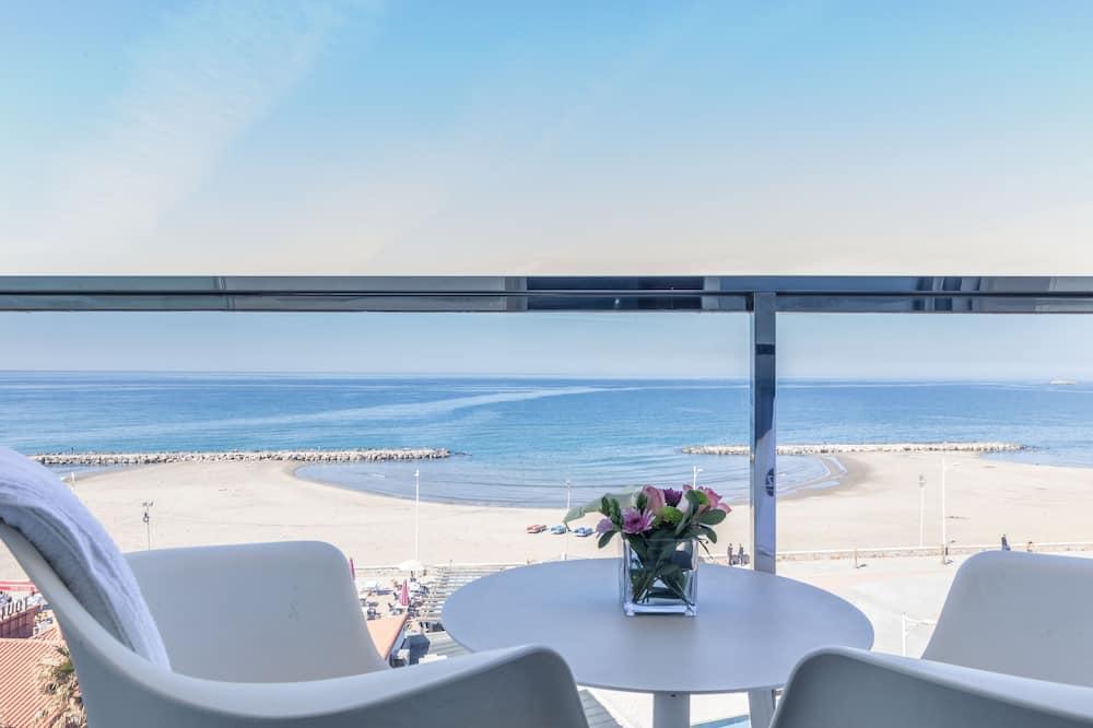 Liukso klasės kambarys, vaizdas į jūrą - Balkonas