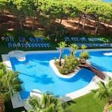 Junior suite, uitzicht op tuin (Triple) - Kamer