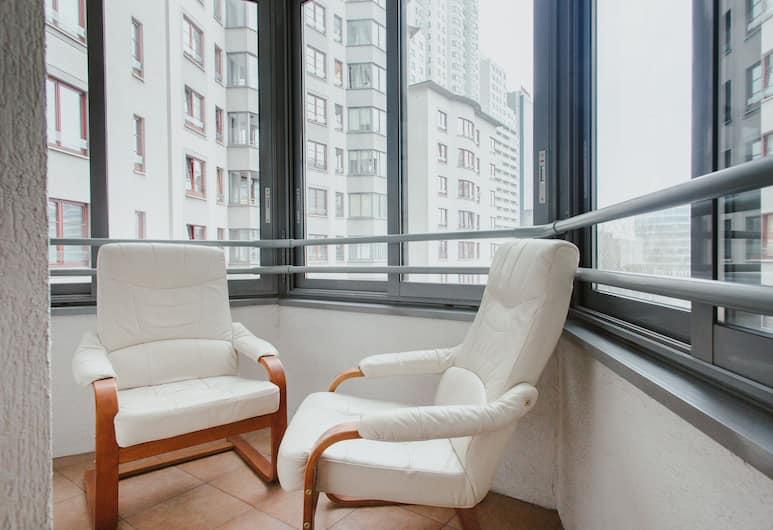 Lucka Rooms - California Dreaming B24.2, Warsawa, Kamar, kamar mandi umum, pemandangan kota, Balkon