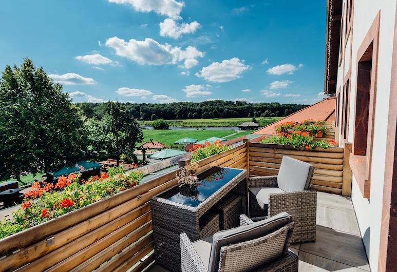 Erlebnishotel Zur Schiffsmühle, Grimma, Honeymoon Room, Balcony