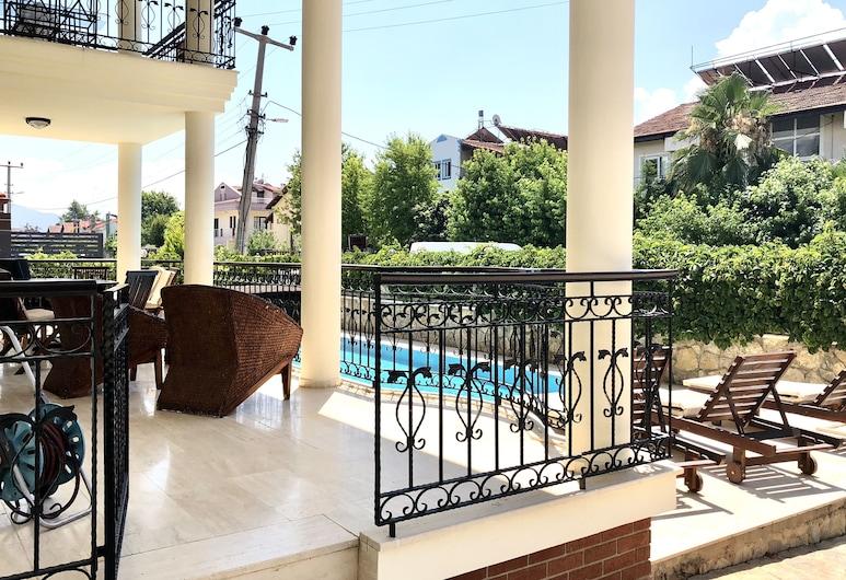 十公寓酒店, 費特希耶, 別墅, 3 間臥室, 露台景觀
