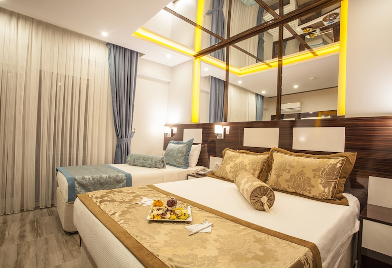 Pamukkale Termal Ece Otel, Pamukkale, Phòng Deluxe, Ban công, Quang cảnh phòng