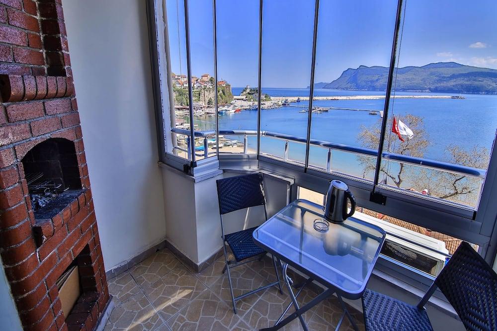 Улучшенный люкс, вид на море - Балкон