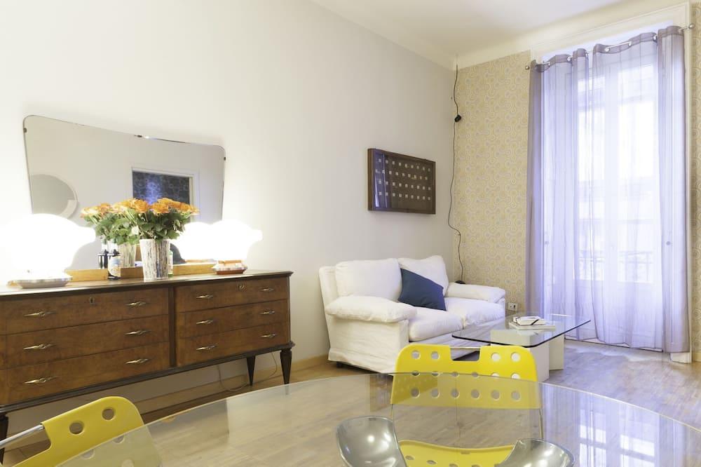 Apartamento, 1 Quarto - Refeições no Quarto