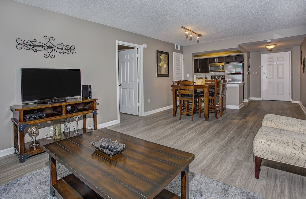 Church Street Apartment By Stay Alfred, Nashville, Standard Apartment, 1  Bedroom, Living