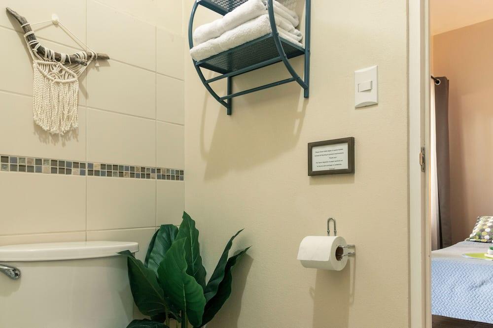 Double Room with Terrace (Room 1) - Cuarto de baño