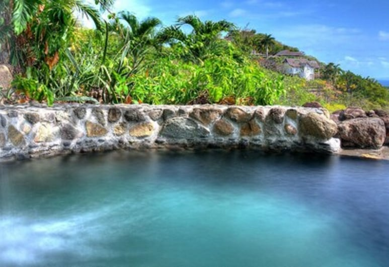FireFly Hotel Mustique, Pulau Mustique, Kolam Terbuka