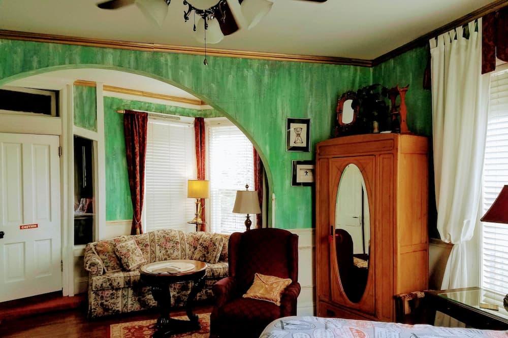 Comfort-Zimmer, eigenes Bad - Wohnbereich