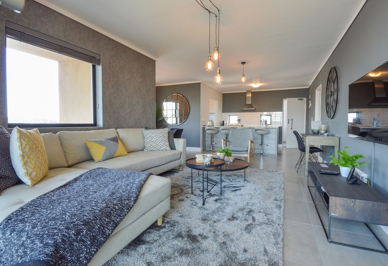 Matrix Luxury Apartments, Cape Town, Two Bedroom Superior Waters Edge, Living Area