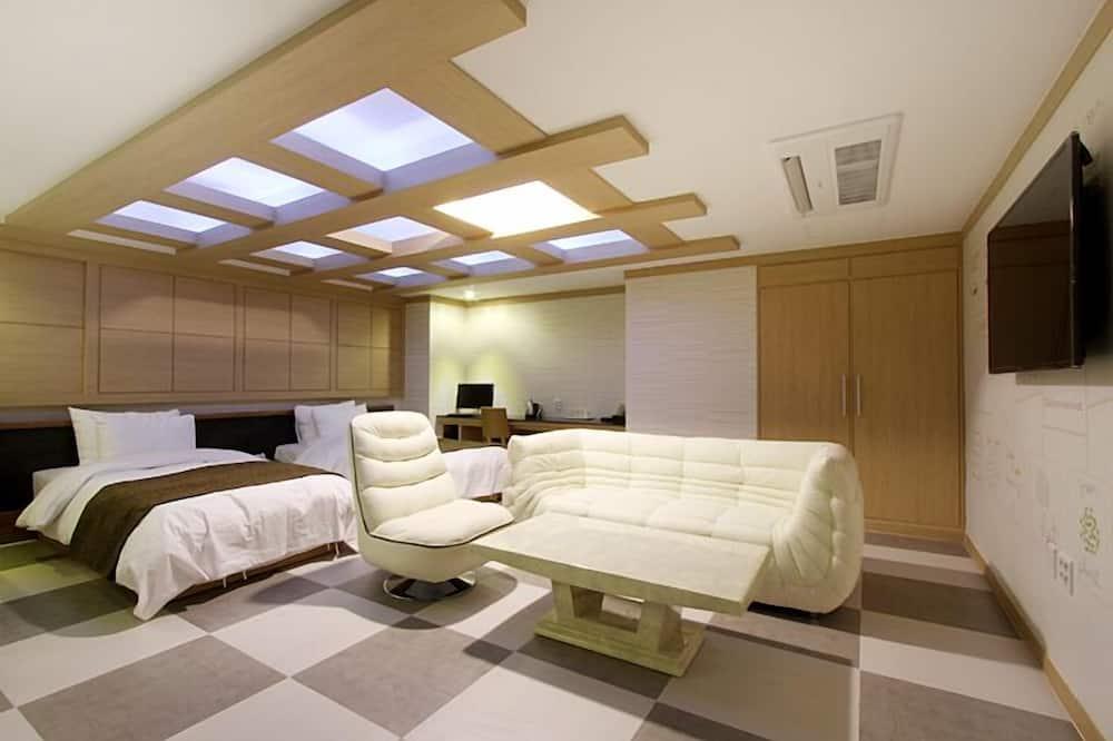스위트 - 거실 공간