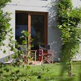 Classic szoba kétszemélyes ággyal, 1 hálószobával, kilátással a kertre, földszinti - Vendégszoba