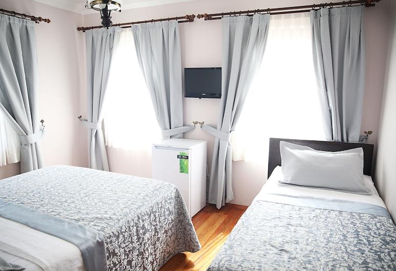 Ebruli Hotel, Bozcaada, Standardní třílůžkový pokoj, Pokoj