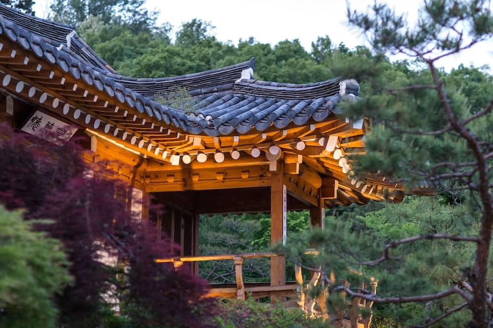 Room, Garden View - Balcony