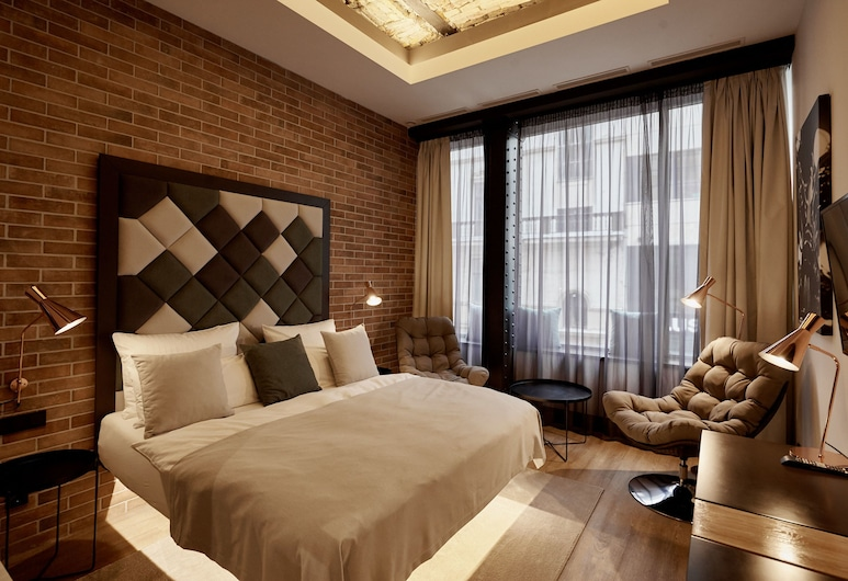 The Loft Budapest, Budapest, Panoramic Room, 1 King Bed, City View, Guest Room View