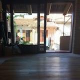 Double Room, Terrace (Blu) - Living Area