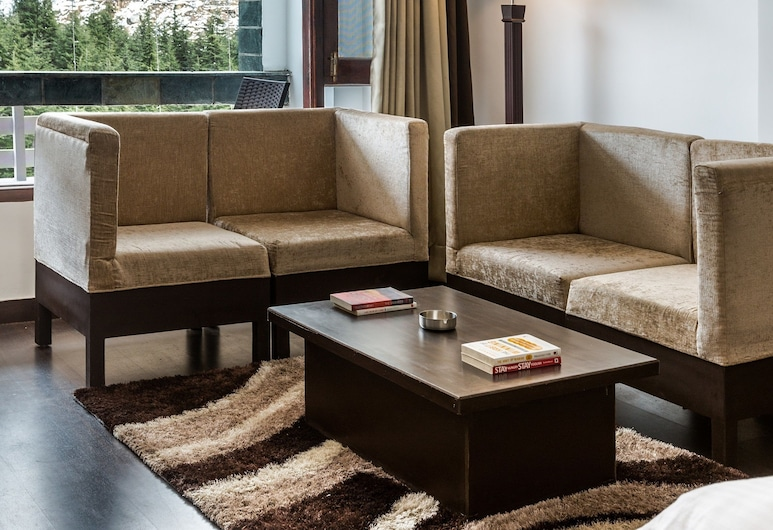The Tranquil Inn, Manali, Premium Double Room, Living Area