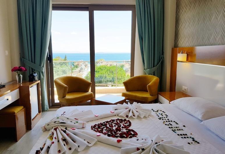 Hotel Santana Life, Edremit, Habitación doble estándar, vista al mar, Habitación