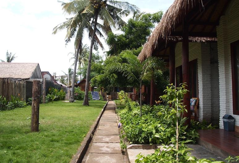 Gili Escape Bungalows, Gili Trawangan, Jardin