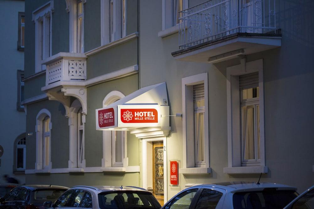 Hotel Mille Stelle City Heidelberg Front Evening Night