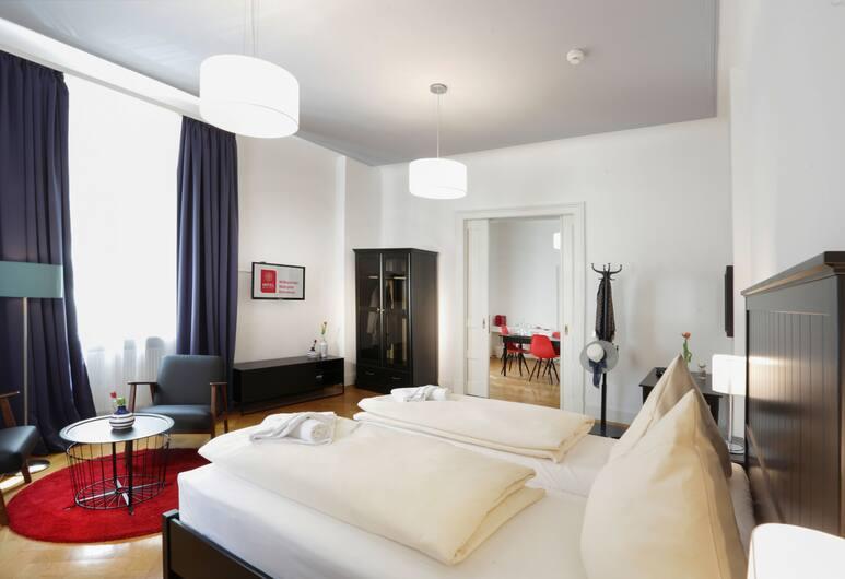 Hotel Mille Stelle City, Heidelberg, Apartment, Zimmer
