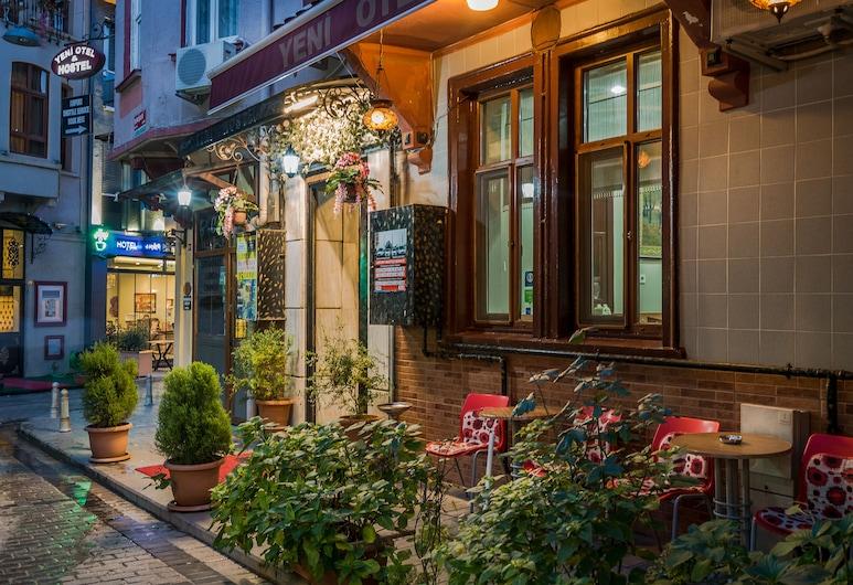 Yeni Hotel, Istanbul, Mặt tiền khách sạn