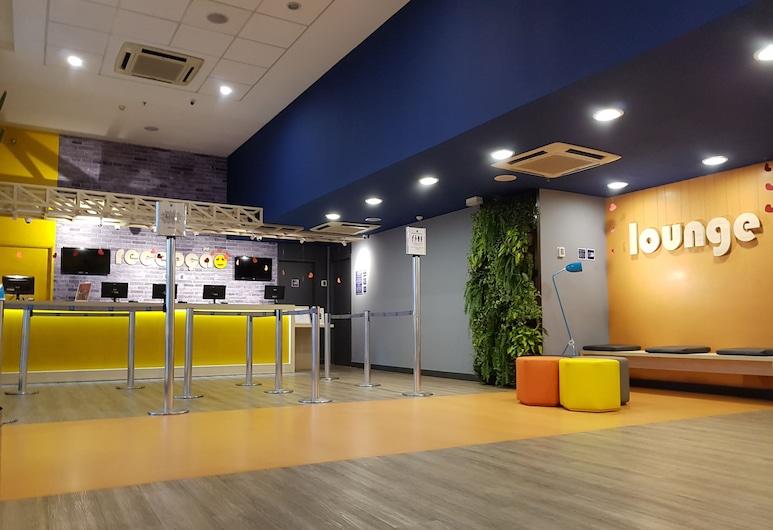 إيبيس بدجت ساو باولو مورومبي, ساو باولو, مكتب الاستقبال