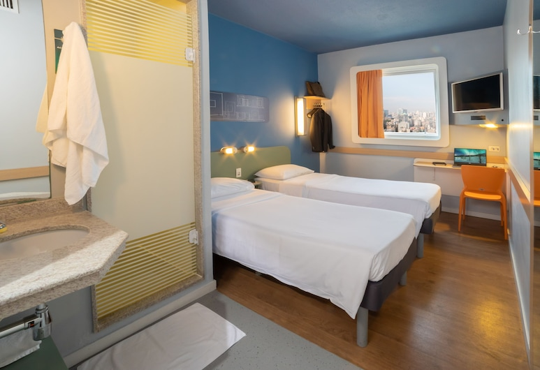 ibis budget Sp Frei Caneca, Sao Paulo, Apartment, 2 Twin Beds, Guest Room