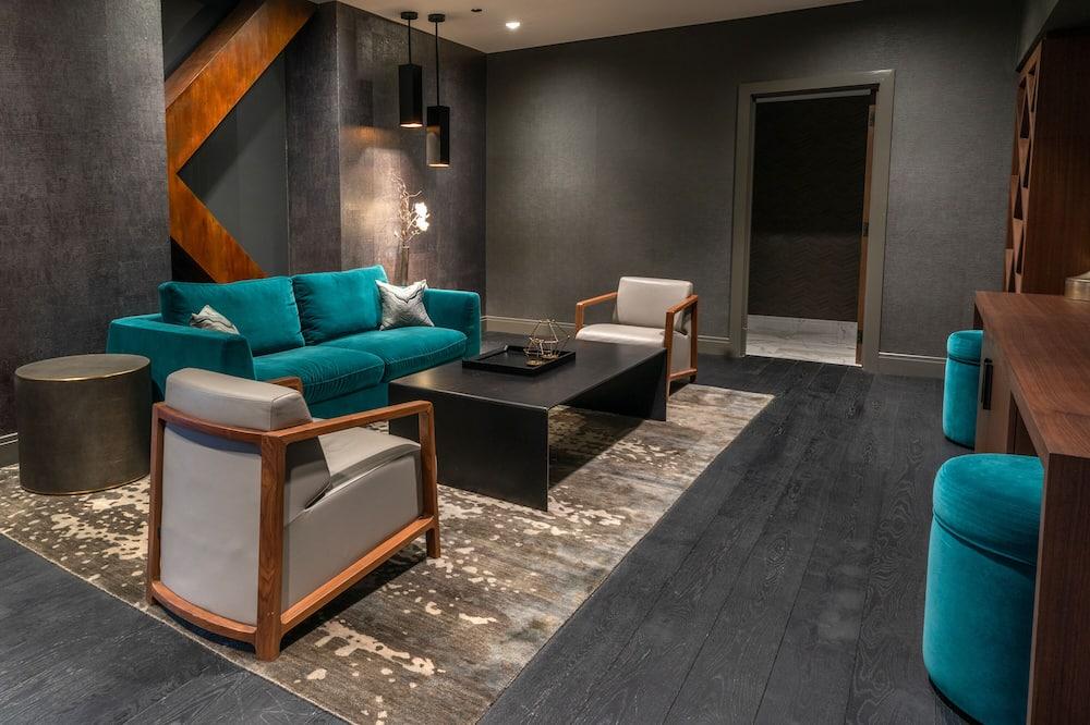 Design Σουίτα, 1 King Κρεβάτι - Καθιστικό
