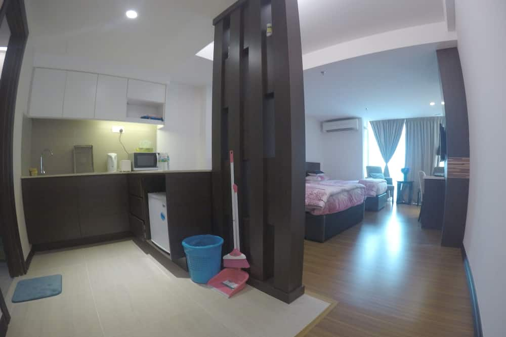 Studio (Apartment) - Dapur kecil peribadi