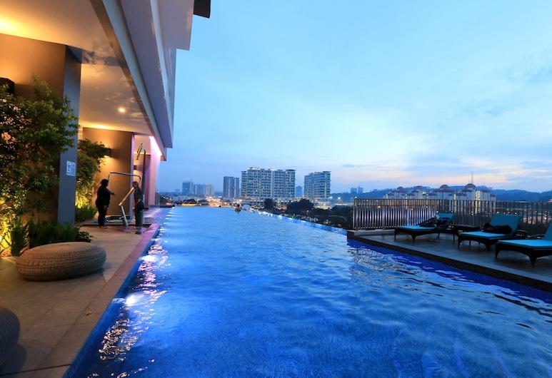 松果@阿凡塔斯谷中酒店, 吉隆坡, 無邊際泳池