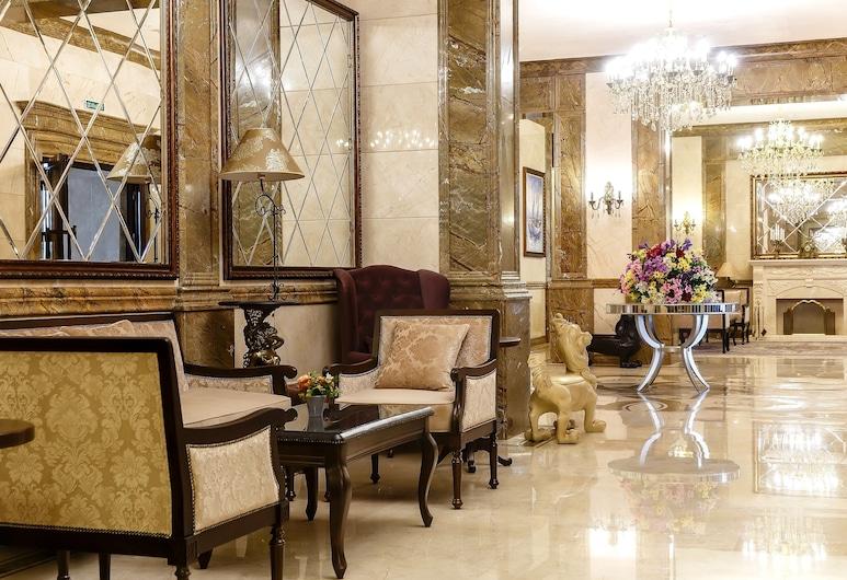 Alanda Hotel, Nur-Sultan, Zitruimte lobby