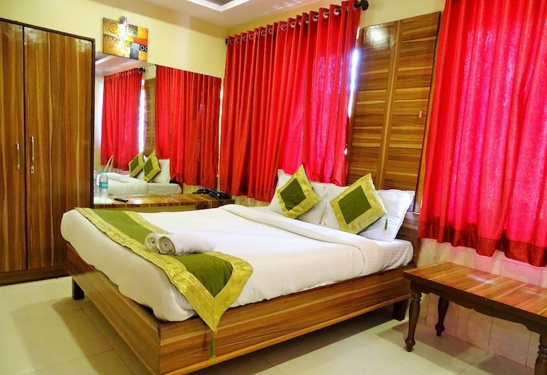 جي إس كيه هوتل, مومباي, غرفة ديلوكس مزدوجة - سرير كبير - للمدخنين, غرفة نزلاء