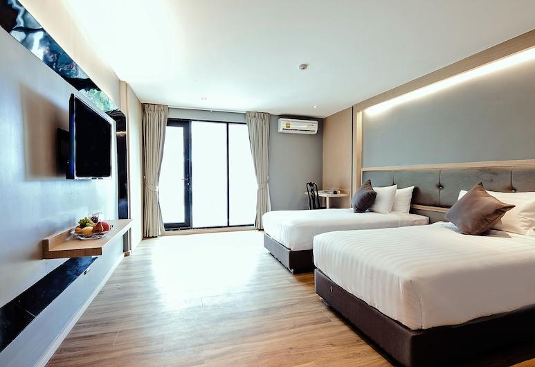 쓰리 수쿰윗 호텔, 방콕, 슈피리어 트윈룸, 객실
