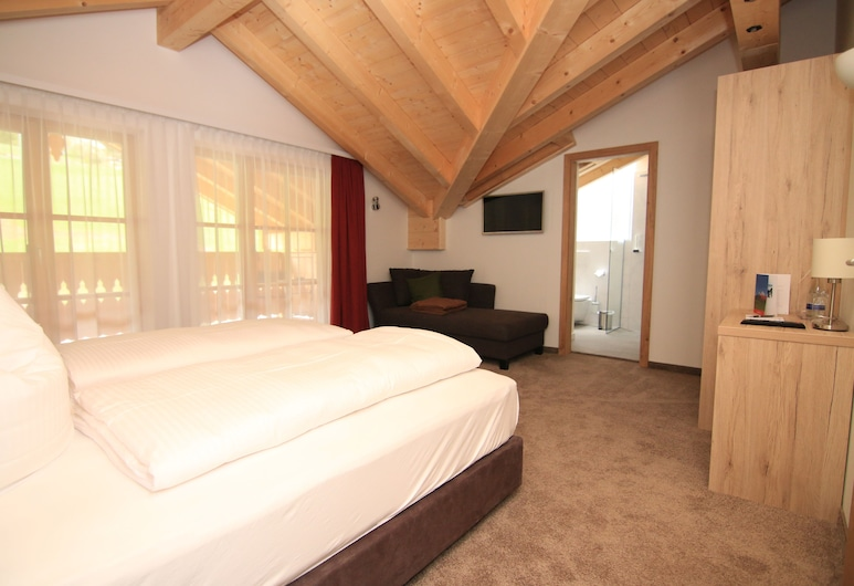Alpinhotel Berchtesgaden, Berchtesgaden, Superior Double Room Single Use, Balcony, Guest Room