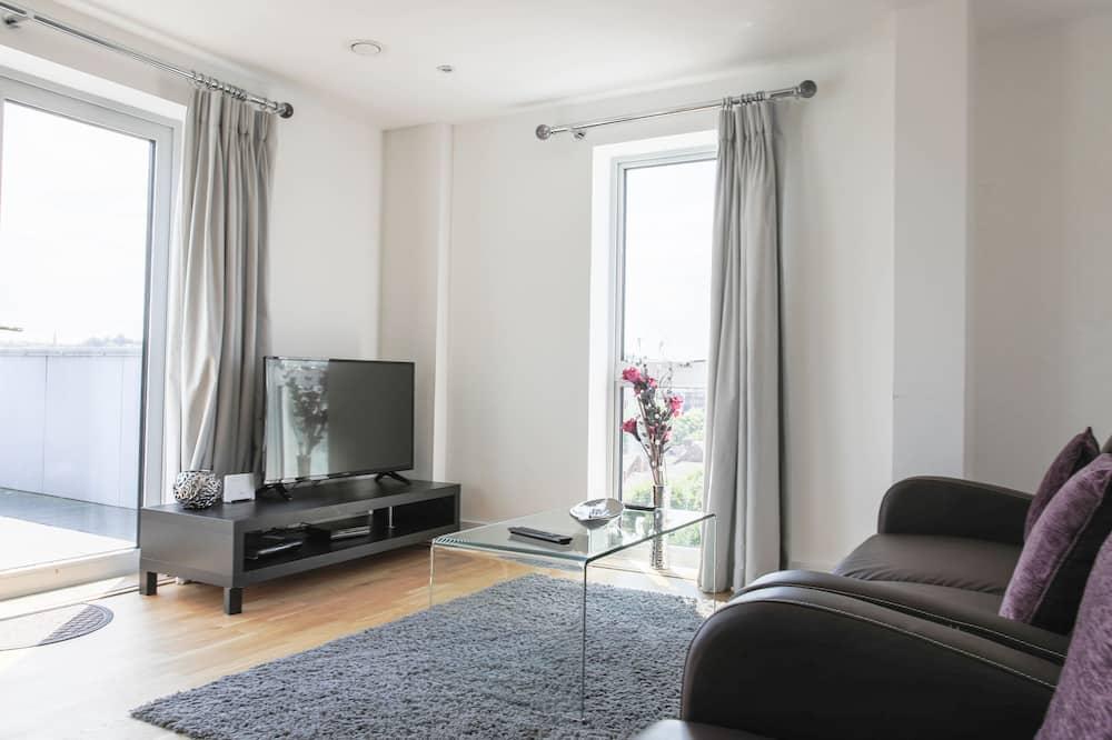 Apartment, 2 Bedrooms, 2 Bathrooms - Living Room